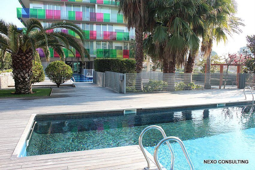 Piscina - Apartamento en venta en calle Lobregat, Els Esquirols en Cambrils - 263569504