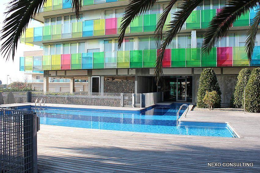 Piscina - Apartamento en venta en calle Lobregat, Els Esquirols en Cambrils - 263569507