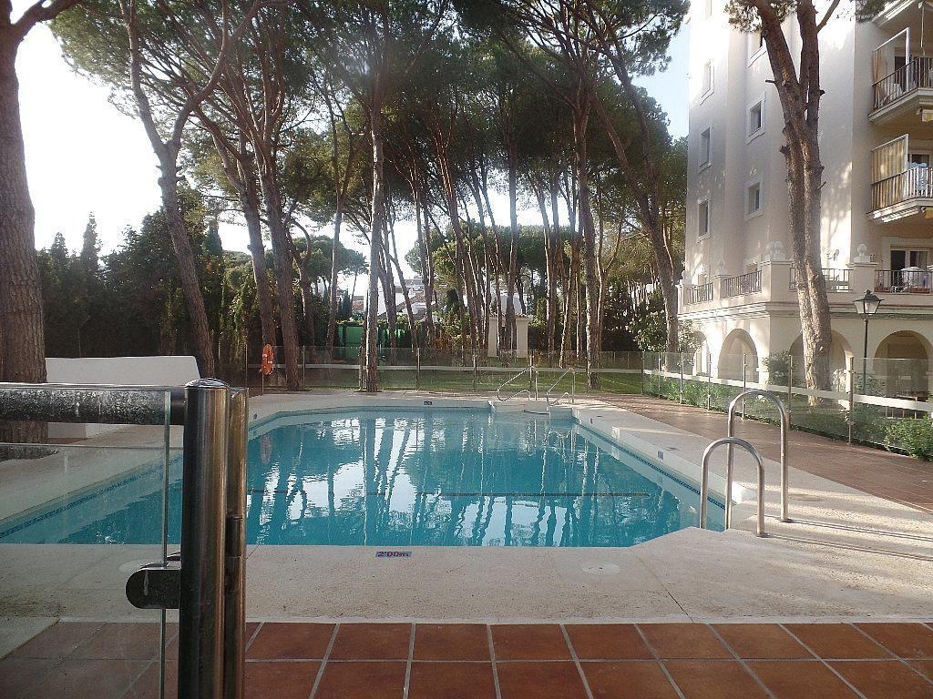Piscina - Apartamento en alquiler en urbanización Puerto Banus, Puerto Banús en Marbella - 304851310