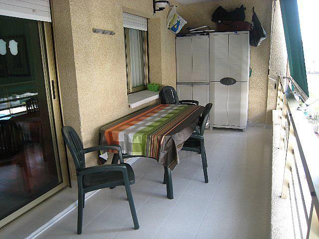 Terraza - Piso en alquiler en calle P Miramar, Centro en Torredembarra - 131363032