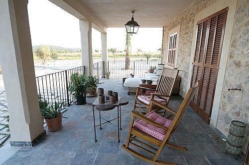 Terraza - Finca rústica en alquiler de temporada en carretera Sineuariany, Sineu - 164130790