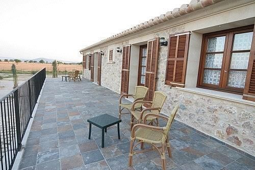 Terraza - Finca rústica en alquiler de temporada en carretera Sineuariany, Sineu - 164130805