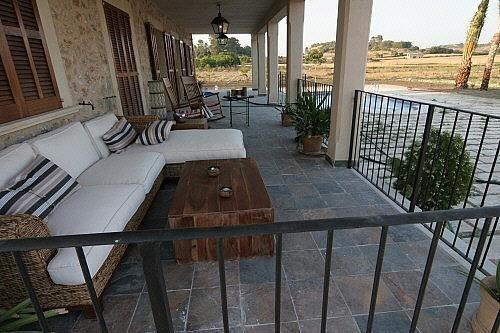 Terraza - Finca rústica en alquiler de temporada en carretera Sineuariany, Sineu - 164130820