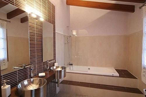 Baño - Finca rústica en alquiler de temporada en carretera Sineuariany, Sineu - 164130824