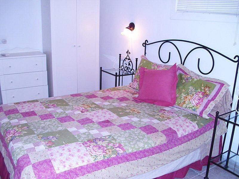 Dormitorio - Apartamento en alquiler de temporada en calle Las Palmeras, Port d´Alcudia - 164541567