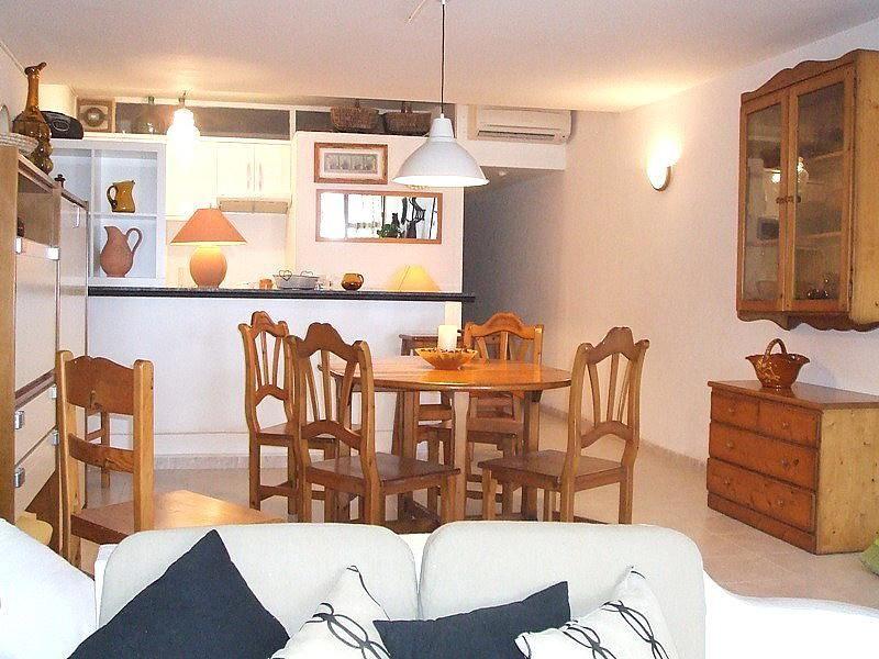 Comedor - Apartamento en alquiler de temporada en calle Las Palmeras, Port d´Alcudia - 164541573