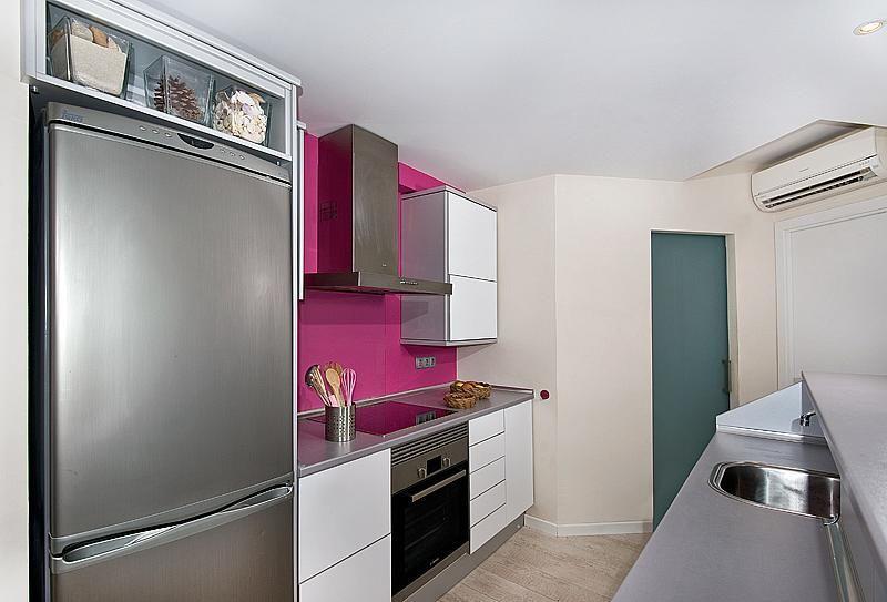 Cocina - Apartamento en alquiler de temporada en calle L´Ham, Port d´Alcudia - 165044450