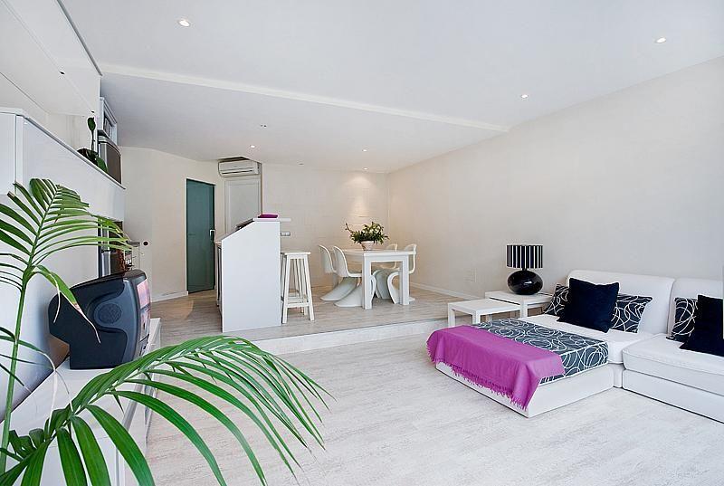 Salón - Apartamento en alquiler de temporada en calle L´Ham, Port d´Alcudia - 165044462