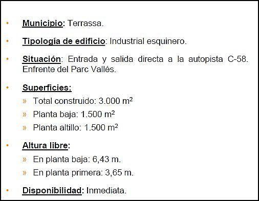 Nave industrial en alquiler en Segle XX en Terrassa - 201089653