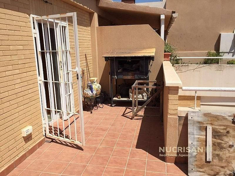 TERRAZA CON BARBACOA - Villa en alquiler en Cabo de las Huertas en Alicante/Alacant - 322218469
