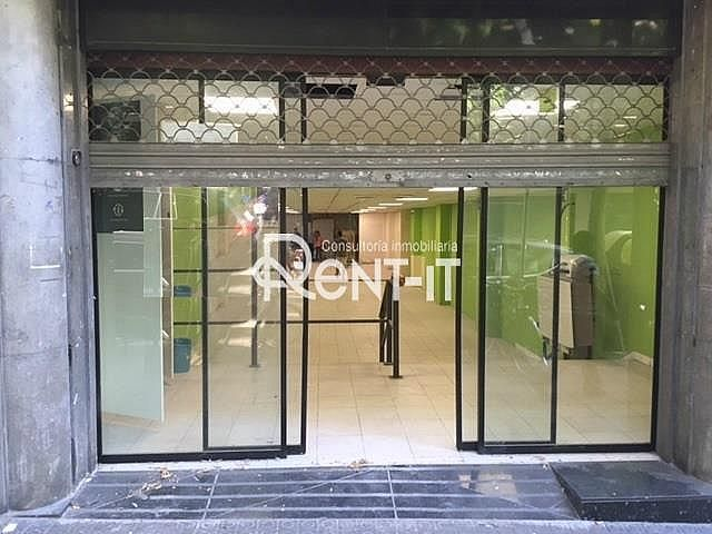 FACHADA - Local en alquiler en Sant Gervasi – Galvany en Barcelona - 326946086