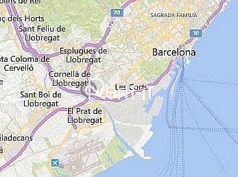 SITUACIÓN - Nave industrial en alquiler en Almeda en Cornellà de Llobregat - 325494424