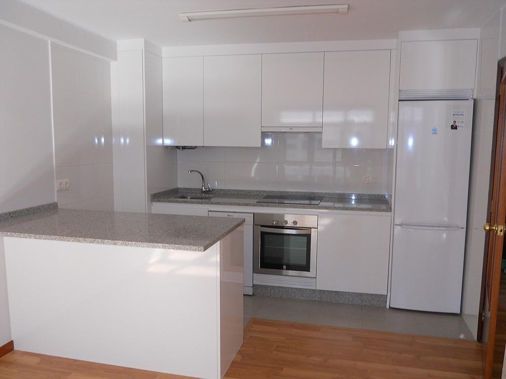Cocina - Piso en alquiler en calle Pi y Margall, Bouzas-Coia en Vigo - 204629530