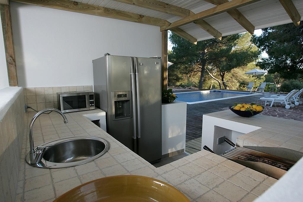 Cocina - Villa en alquiler de temporada en calle Diseminado Poligono, Sant Josep de sa Talaia - 267609155