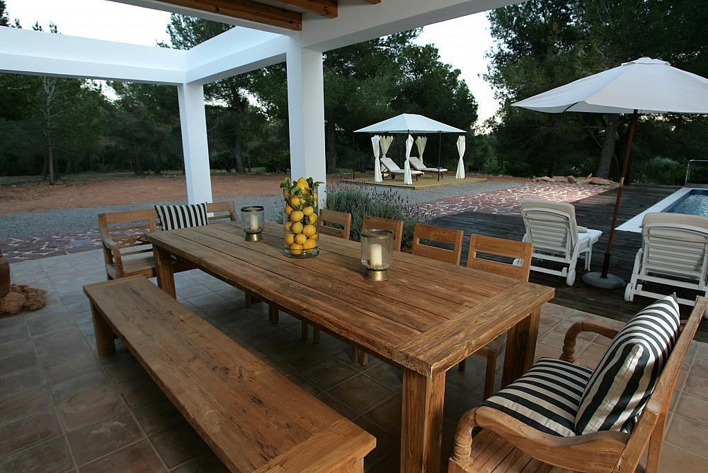 Terraza - Villa en alquiler de temporada en calle Diseminado Poligono, Sant Josep de sa Talaia - 267609165