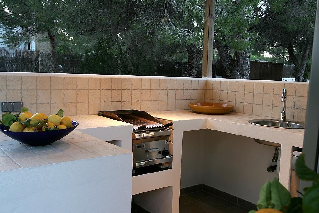 Cocina - Villa en alquiler de temporada en calle Diseminado Poligono, Sant Josep de sa Talaia - 267609217