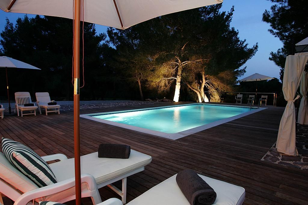 Piscina - Villa en alquiler de temporada en calle Diseminado Poligono, Sant Josep de sa Talaia - 267609425