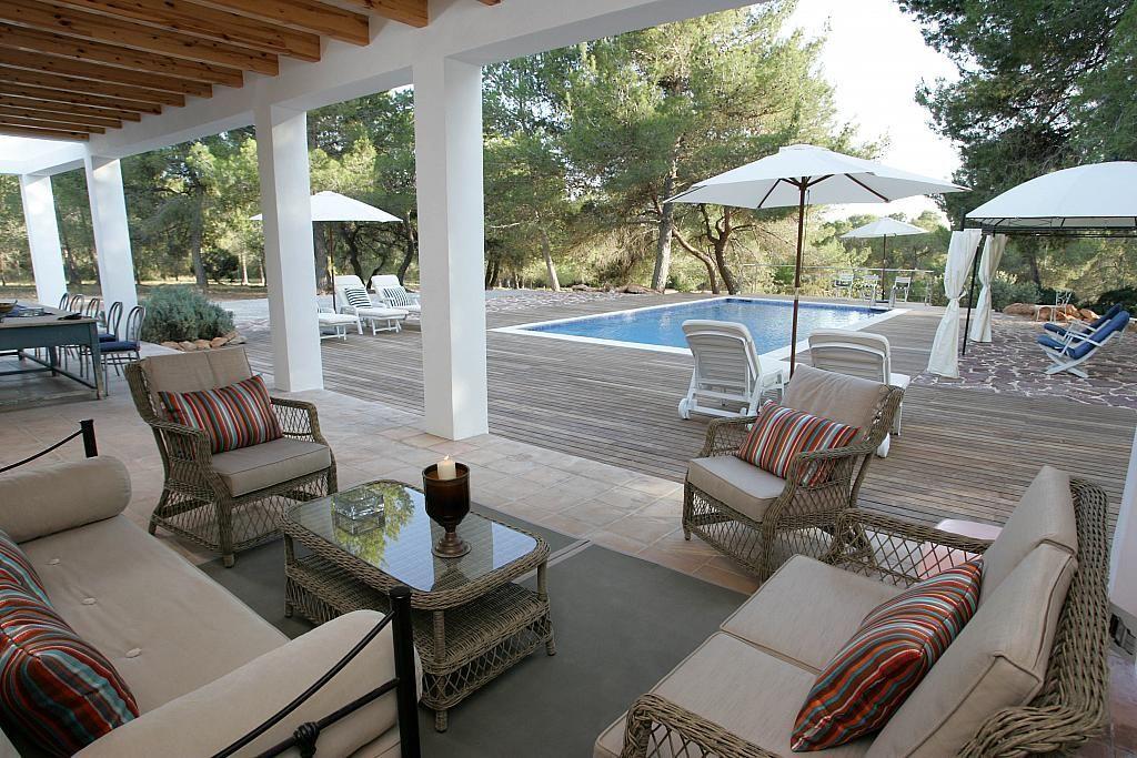 Terraza - Villa en alquiler de temporada en calle Diseminado Poligono, Sant Josep de sa Talaia - 267609437