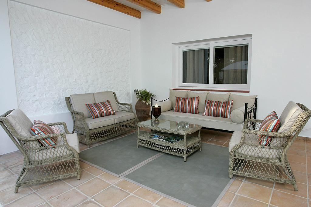 Terraza - Villa en alquiler de temporada en calle Diseminado Poligono, Sant Josep de sa Talaia - 267609450