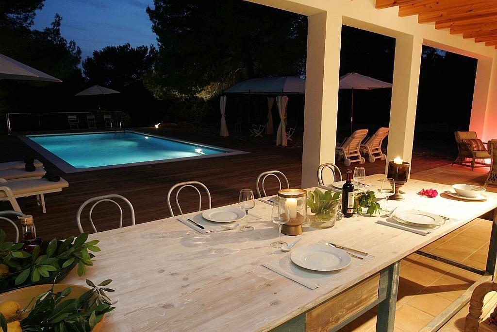 Terraza - Villa en alquiler de temporada en calle Diseminado Poligono, Sant Josep de sa Talaia - 267609461