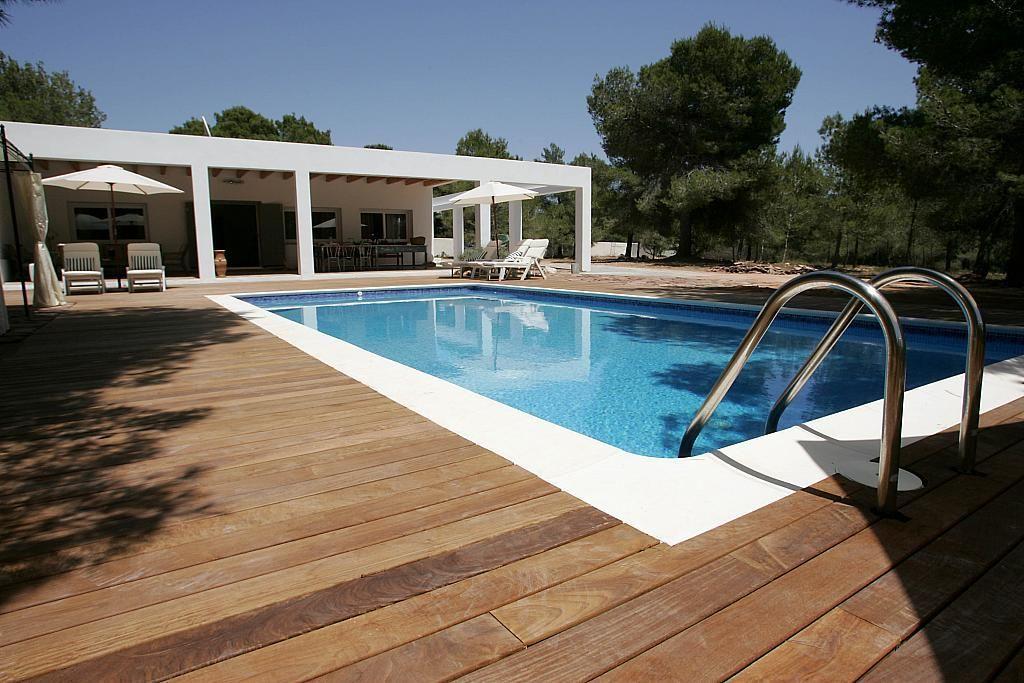 Piscina - Villa en alquiler de temporada en calle Diseminado Poligono, Sant Josep de sa Talaia - 267609470