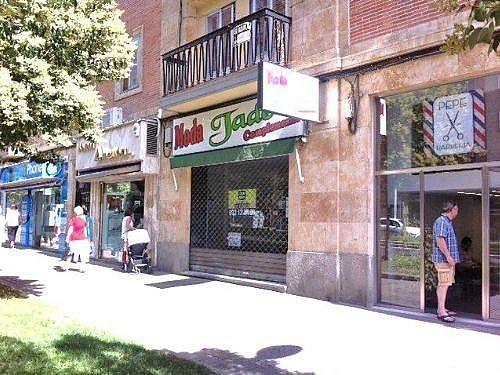 Fachada - Local en alquiler en calle Portugal, Salesas en Salamanca - 400880576