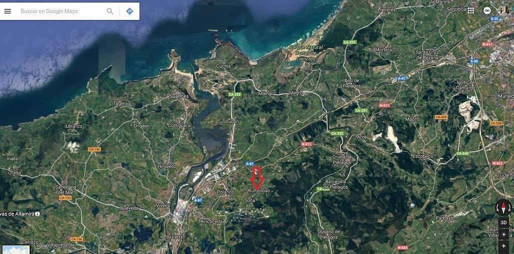 Plano - Casa en alquiler opción compra en barrio Rumoroso, Piélagos - 310561477