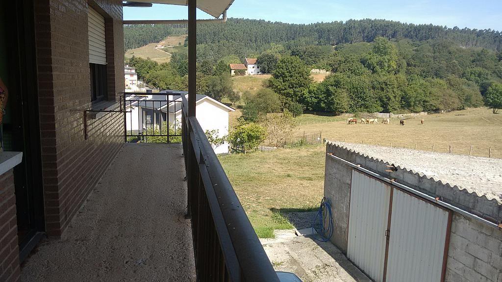 Terraza - Casa en alquiler opción compra en barrio Rumoroso, Piélagos - 316743739
