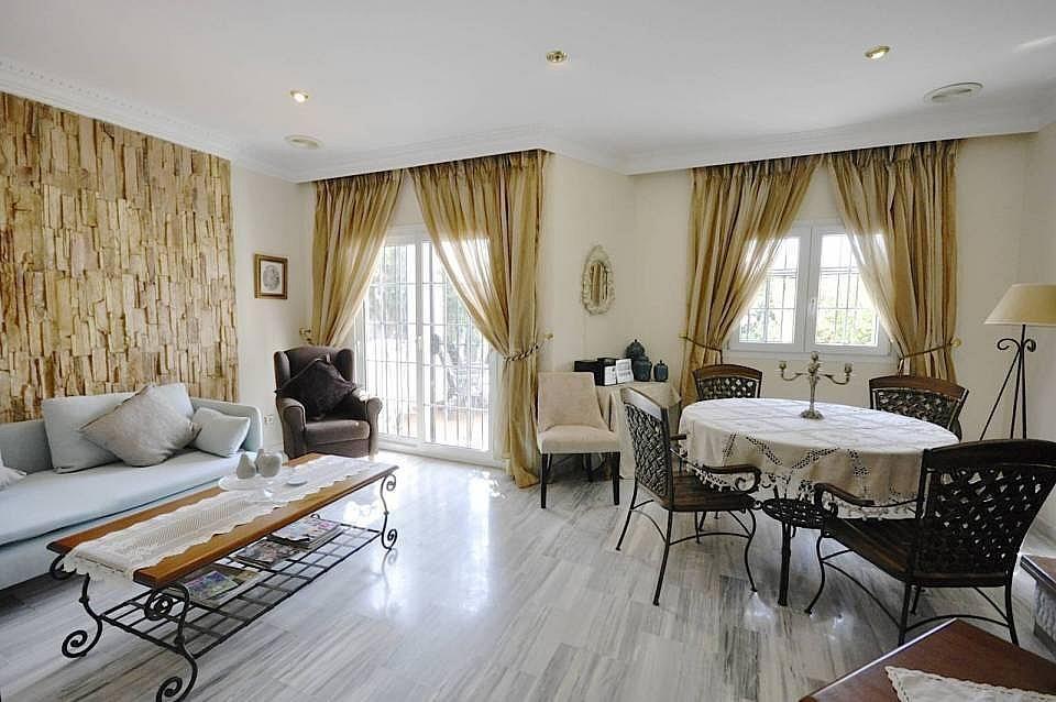 Salon - Casa adosada en alquiler en Milla de Oro en Marbella - 277708300