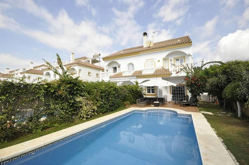 Exterior - Casa adosada en alquiler en Milla de Oro en Marbella - 277708324