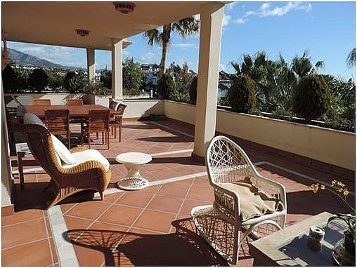 Terraza - Apartamento en alquiler en Milla de Oro en Marbella - 283238620
