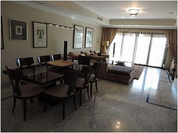 Salon - Apartamento en alquiler en Milla de Oro en Marbella - 283238635