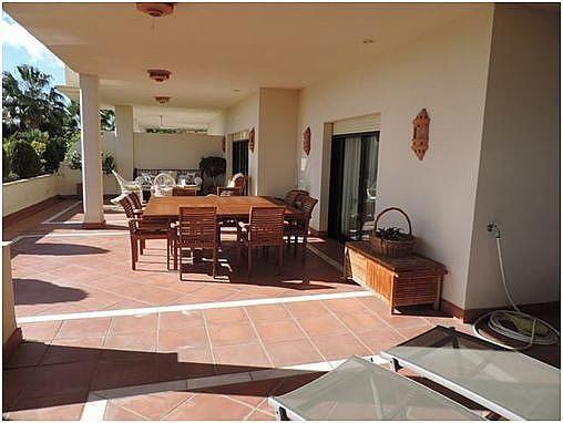 Terraza - Apartamento en alquiler en Milla de Oro en Marbella - 283238638