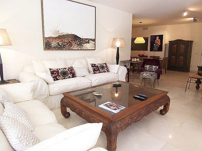 Salon - Apartamento en alquiler en Guadalmina en Marbella - 286985959