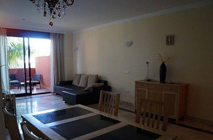 Salon - Apartamento en alquiler en Estepona - 291218328