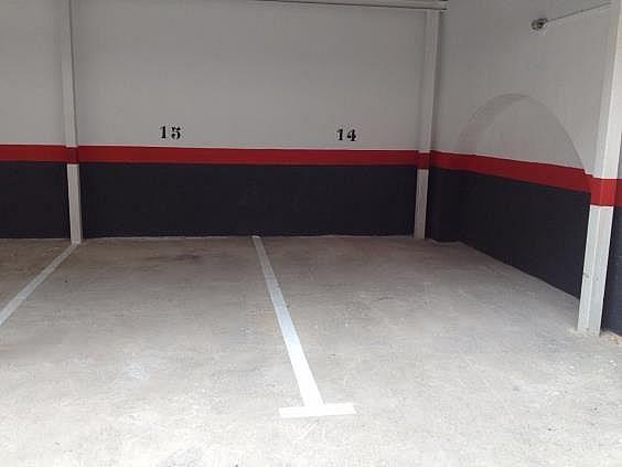 Parking en alquiler en calle Del Rebolledo, Barris Marítims en Tarragona - 319279822