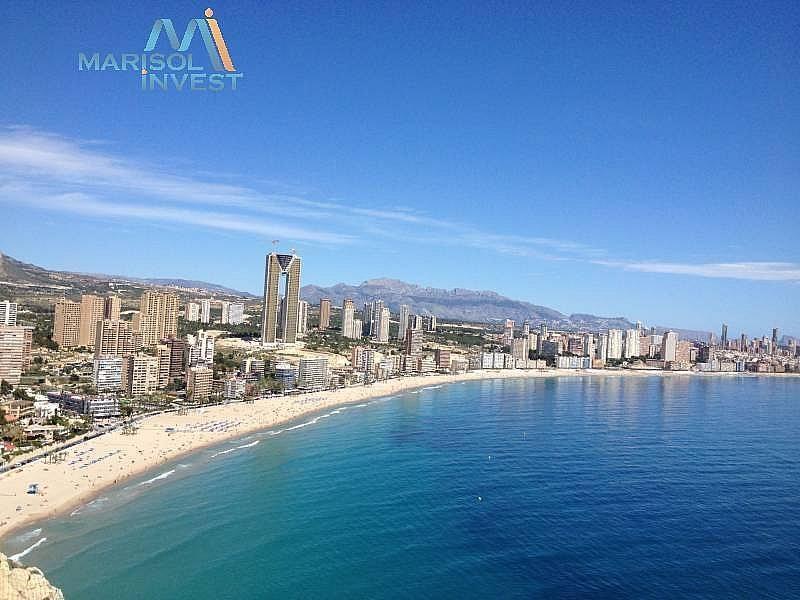 Vistas - Apartamento en alquiler en calle Urbanizaciones, Benidorm - 282855426