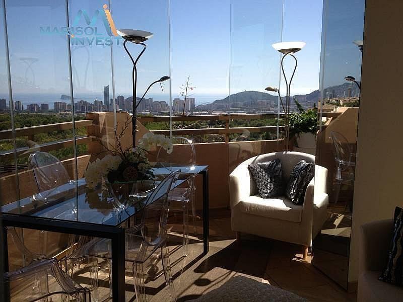 Terraza - Apartamento en alquiler en calle Urbanizaciones, Benidorm - 282855429