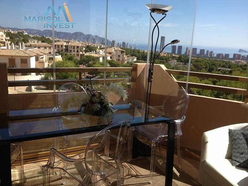 Terraza - Apartamento en alquiler en calle Urbanizaciones, Benidorm - 282855432