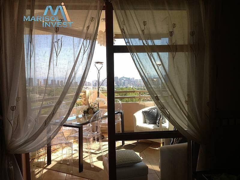 Terraza - Apartamento en alquiler en calle Urbanizaciones, Benidorm - 282855441