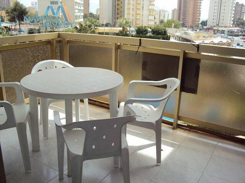 Terraza - Apartamento en venta en calle Cala de Benidorm, Poniente en Benidorm - 293281201