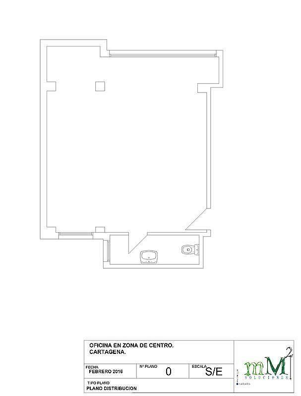 Oficina - Oficina en alquiler en calle Plaza Juan XXIII, Cartagena - 283222189