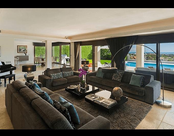 Villa en alquiler de temporada en Marbella - 286943199