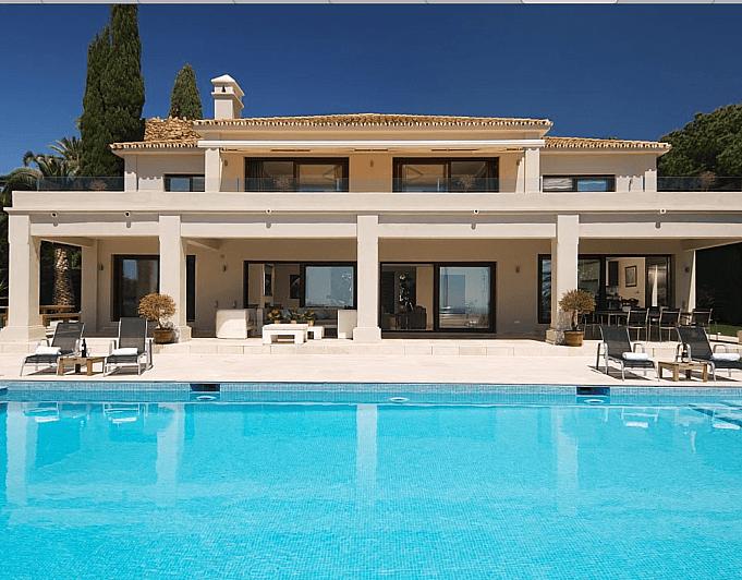 Villa en alquiler de temporada en Marbella - 286943208