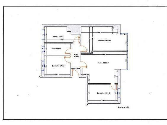 Piso en alquiler en calle Maria Auxiliadora, Labradores en Salamanca - 331649658