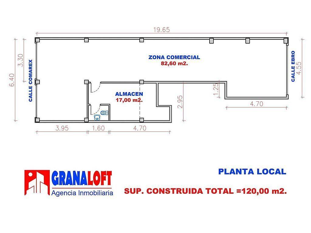 Local comercial en alquiler en calle Ebro, Zaidín en Granada - 383888987