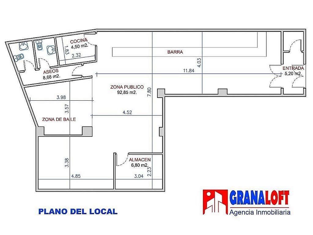 Local comercial en alquiler en calle Tejeiro, Ronda en Granada - 405178359