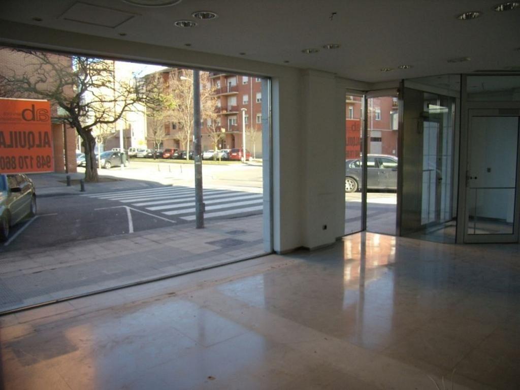 Local comercial en alquiler en calle Bernardino Tirapu, Rochapea en Pamplona/Iruña - 316745407