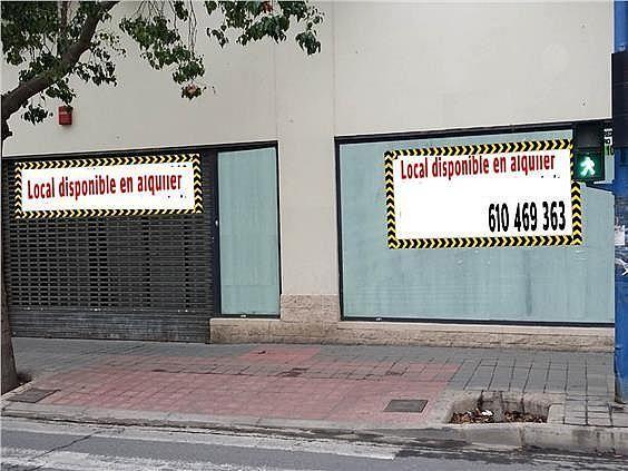 Local en alquiler en calle Orihuela, Florida Baja en Alicante/Alacant - 330830045