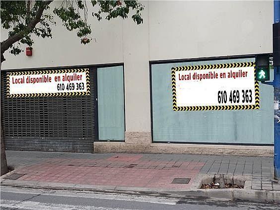 Local en alquiler en calle Orihuela, Florida Baja en Alicante/Alacant - 330830048